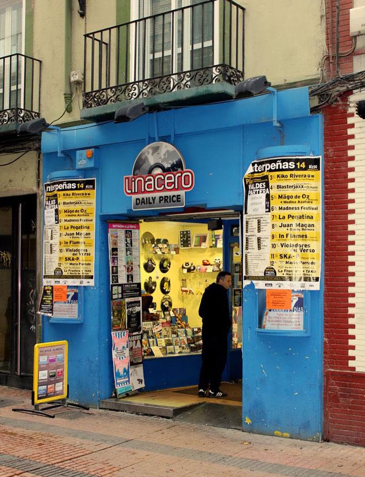 Tienda Linacero, situada en el centro de Zaragoza