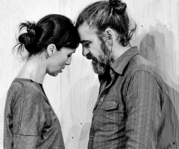 Gonzalo Cunill y Ariadna Gil, dos de los cuatro intérpretes de Vania'.