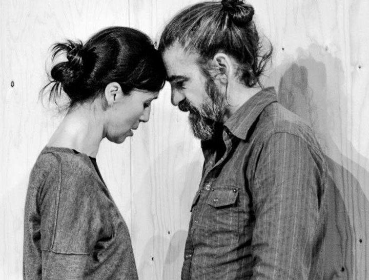 Gonzalo Cunill y Ariadna Gil, dos de los cuatro intérpretes de 'Vania'.