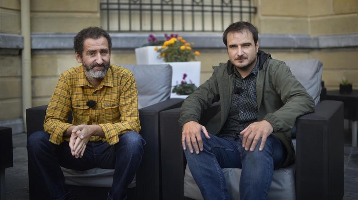 Jon Garaño y Aitor Arregi.