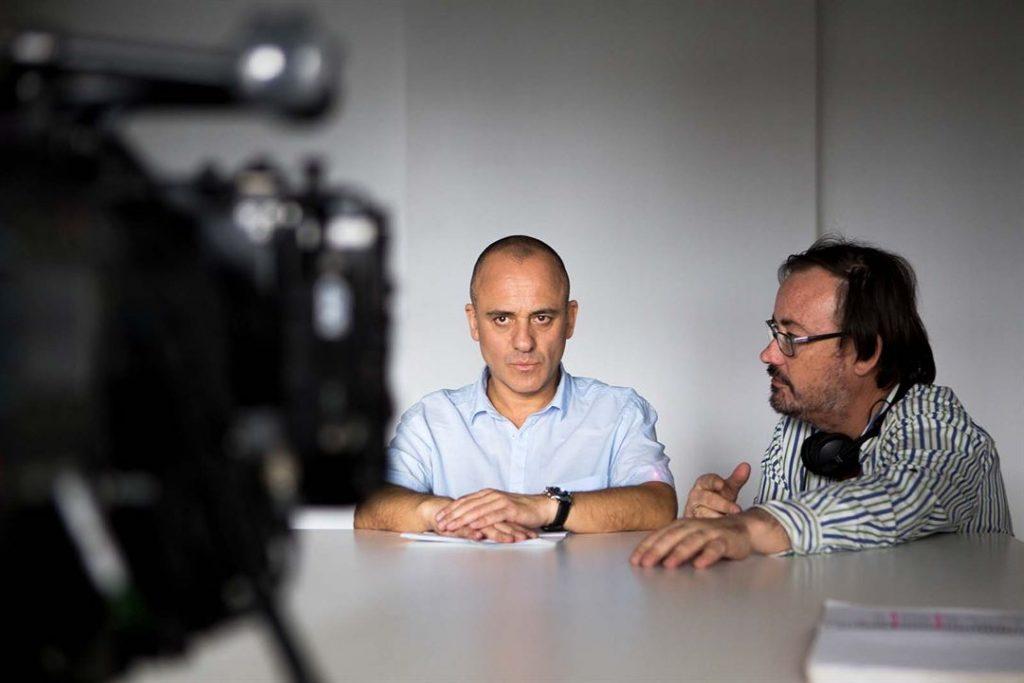 Javier Gutiérrez y Manuel Martín Cuenca.