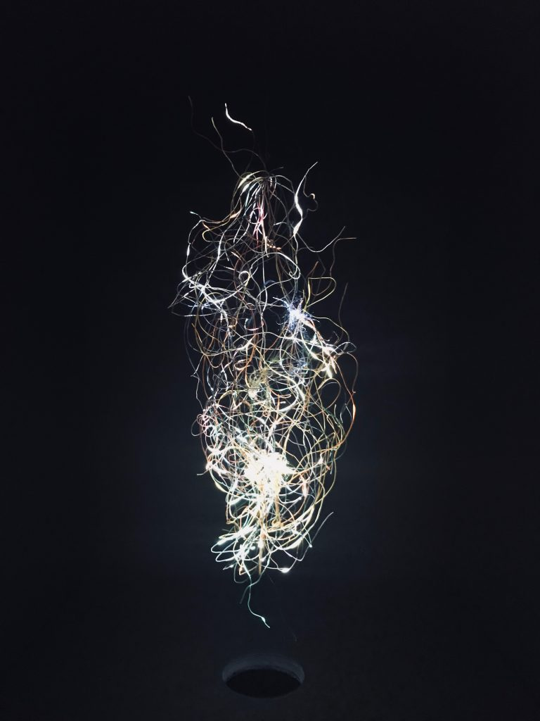 Pneuma 5 (2009) de Daniel Canogar