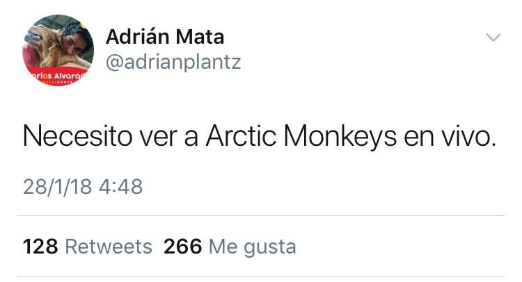Reacción de los usuarios de Twitter ante la confirmación de que los Artic Monkeys forman parte del cartel del Primavera Sound