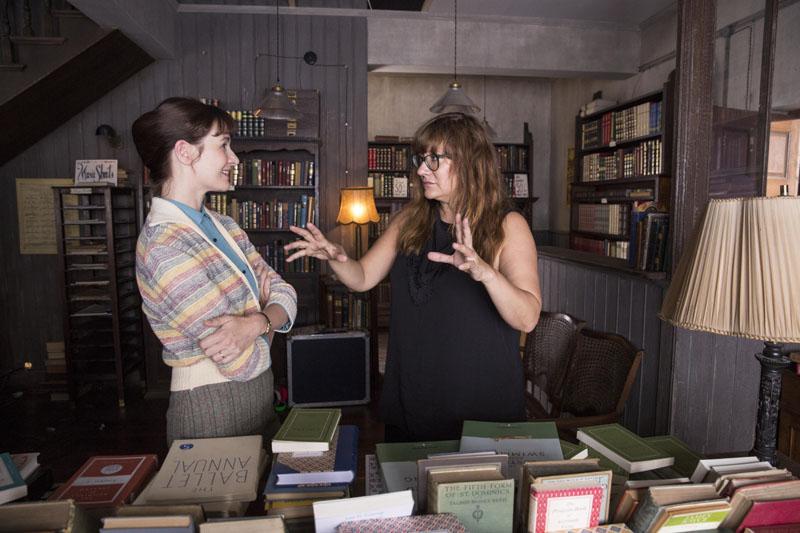 Isabel Coixet junto a Emily Mortimer.