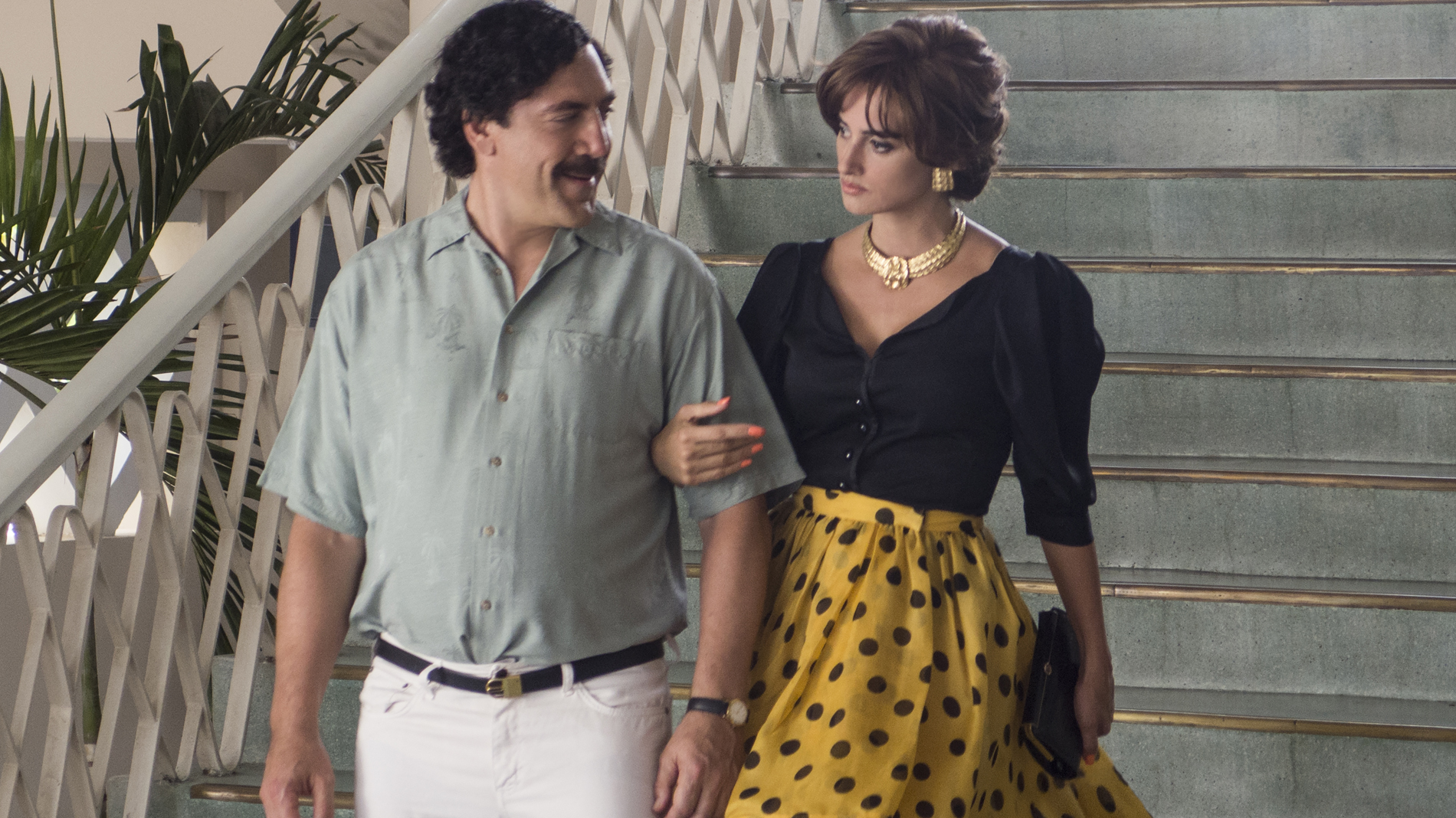Penélope Cruz y Javier Bardem.
