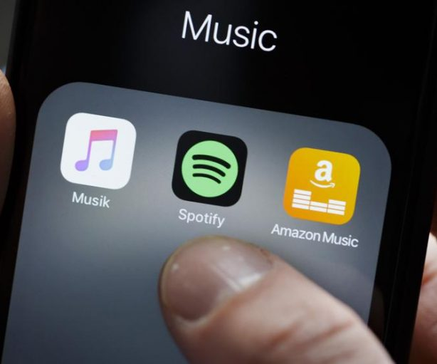 Spotify, apple, compositores