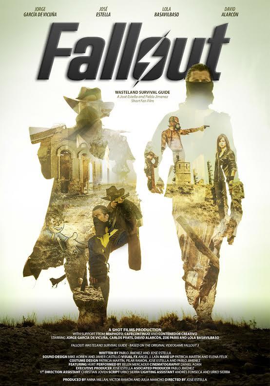 Cartel del cortometraje Fallout Wasteland Survival Guide
