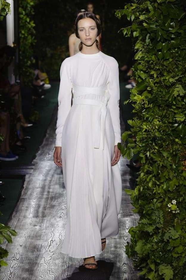 Vestido blanco de Valentino
