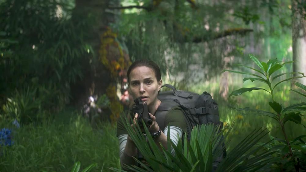 Natalie Portman en Aniquilación.