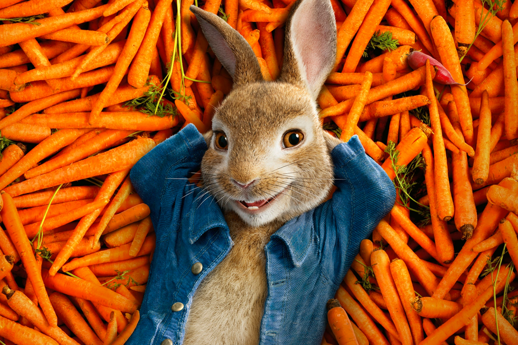 Fotograma de Peter Rabbit.