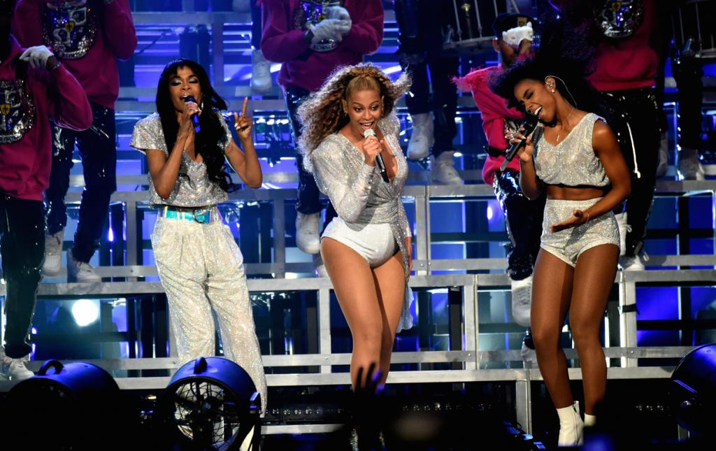 Destiny's Child en el escenario del Coachella | Getty images