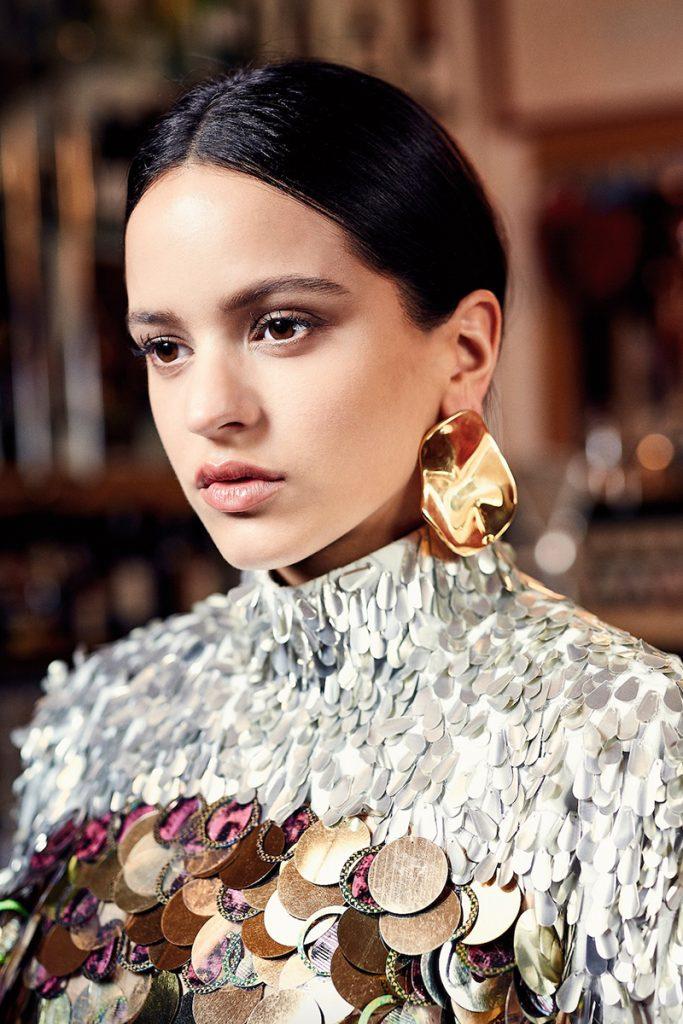 Rosalía posando para S Moda | Foto: Gianfranco Tripod