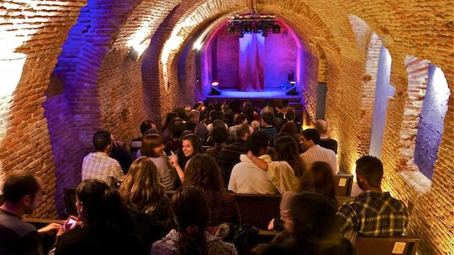 Sala de microteatro La Escalera de Jacob en el Barrio de la Latina de Madrid
