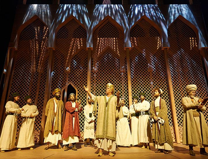 Escena del musical `El Médico´