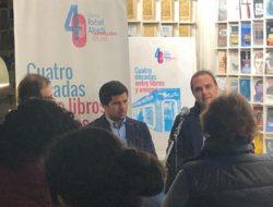 Presentación del libro Dejarás la Tierra en la librería Rafael Alberti