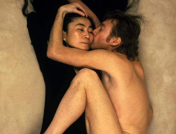 John Lennon y Yoko Ono fotografiados por Annie Leibovitz