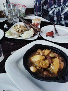 Comida típica marroquí