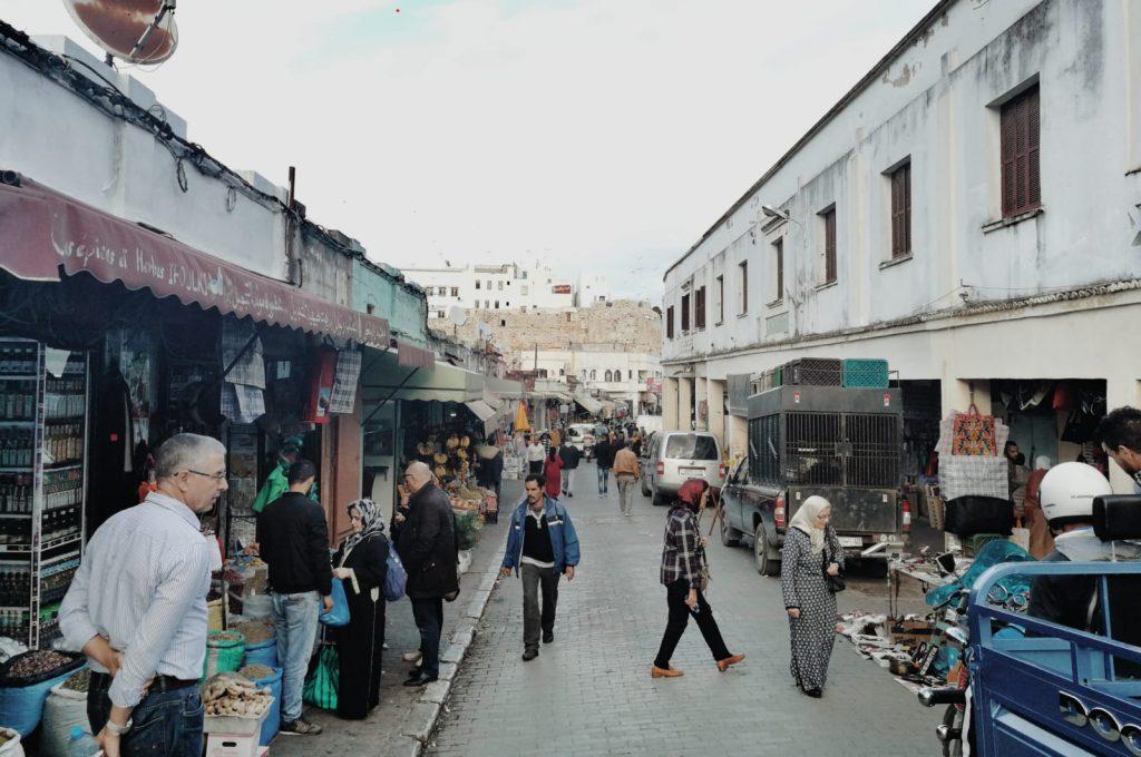 Medina de Tánger.