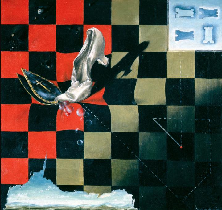'Endgame' (Fin de juego), 1944. Dorothea Tanning.