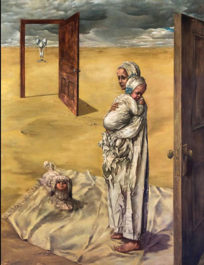 'Maternity' (Maternidad), 1946–7. Dorothea Tanning.