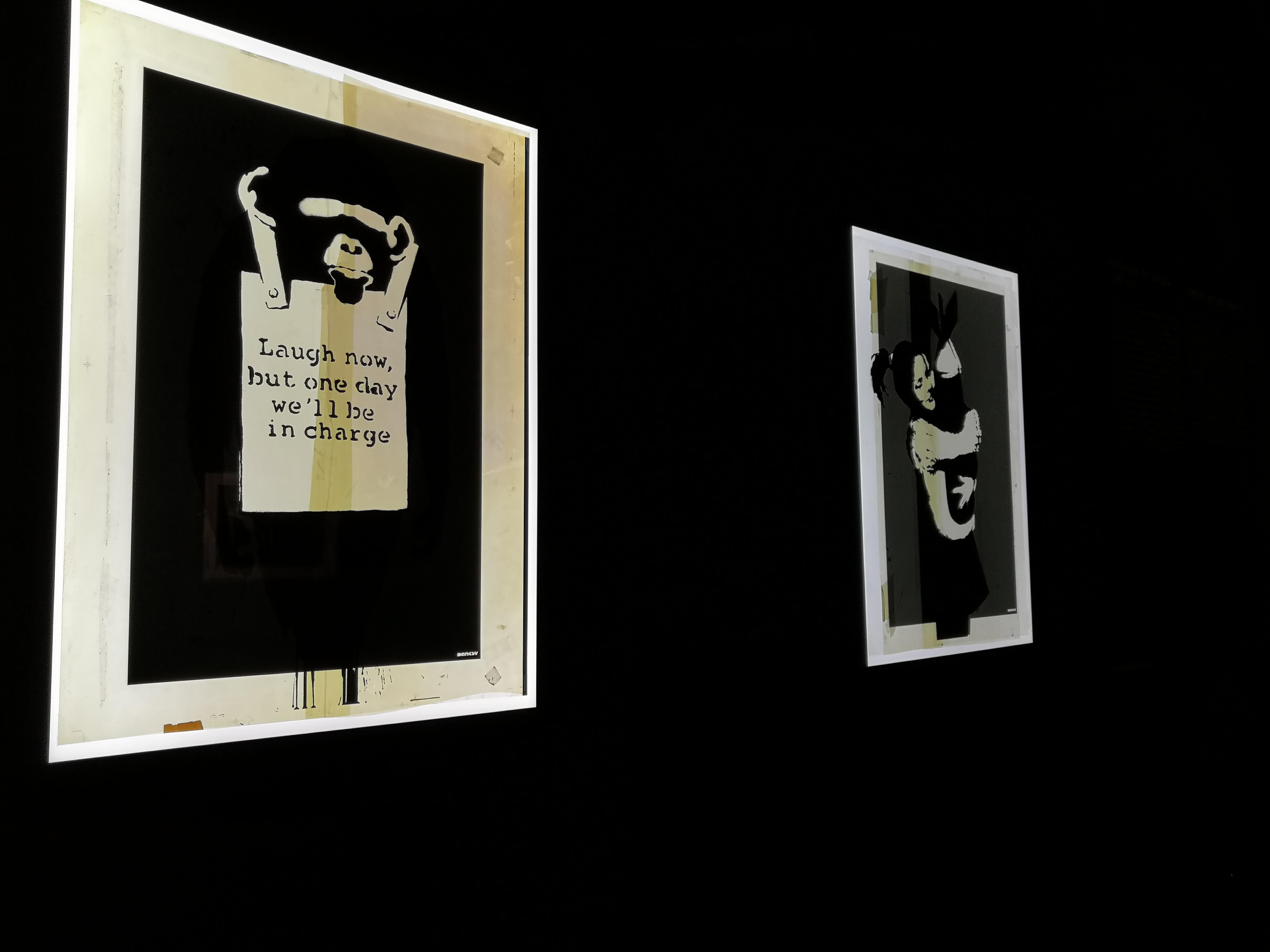 Serigrafías de Banksy