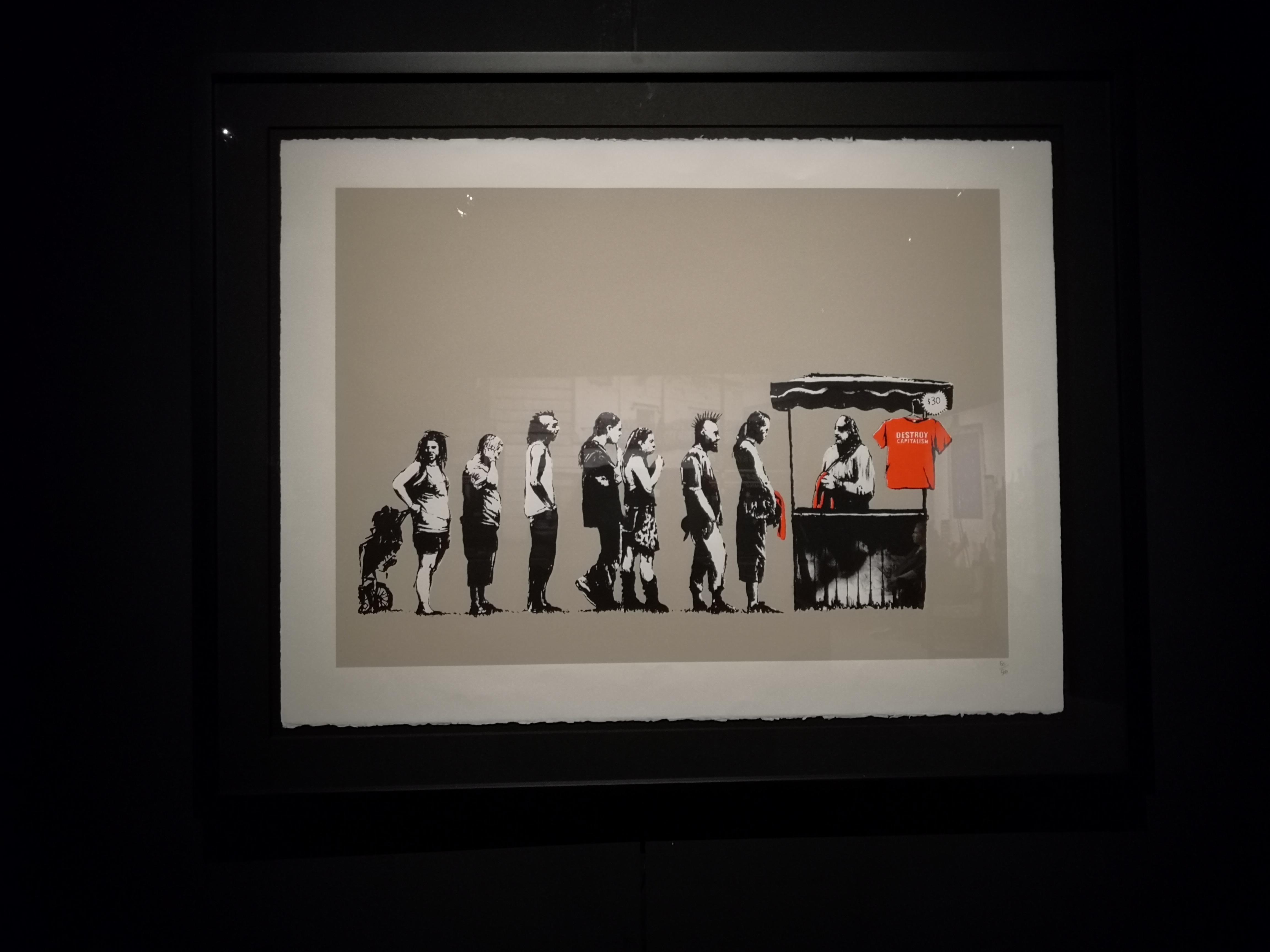 Cuadro 'Festival' de Banksy