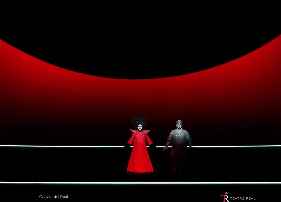 La representación de la ópera 'Turandot' en el Teatro Real de Madrid