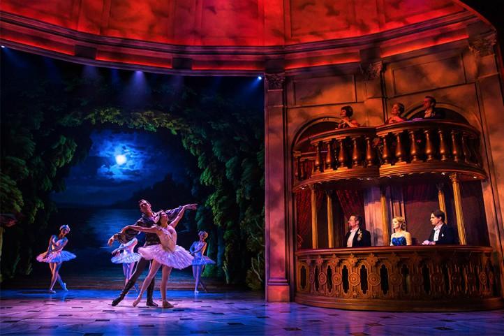 Escena del musical Anastasia