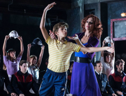 Escena del musical Billy Elliot