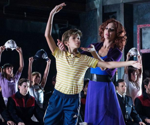 Escena del musical Billy Elliot