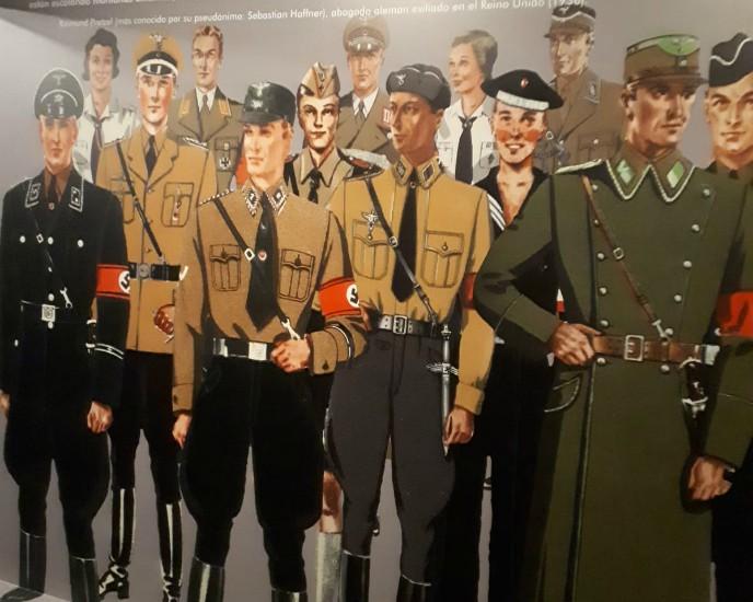 Imagen de diferentes soldados alemanes.