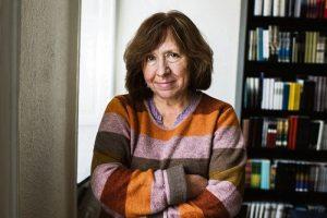 La periodista y escritora rusa Svetlana Aleksiévich