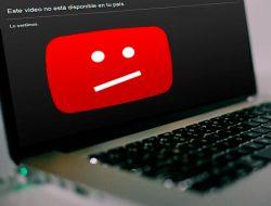 Vídeo bloqueado en el país, YouTube