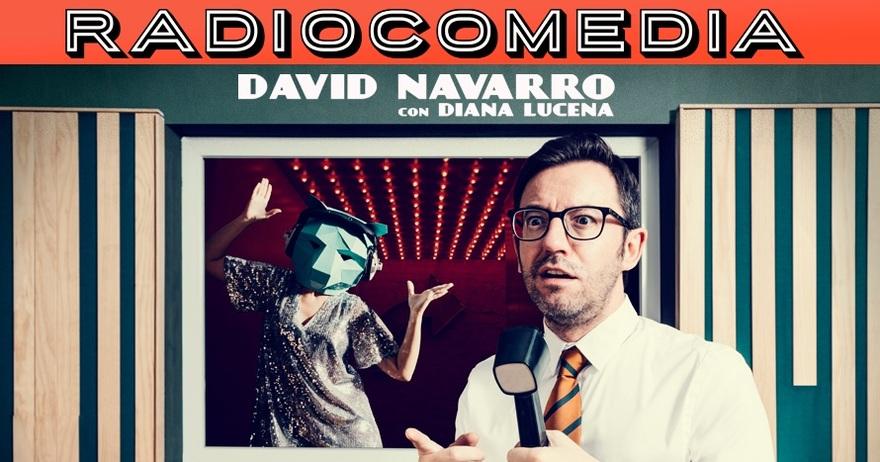 Cartel promocional radiocomedia Jesús Navarro