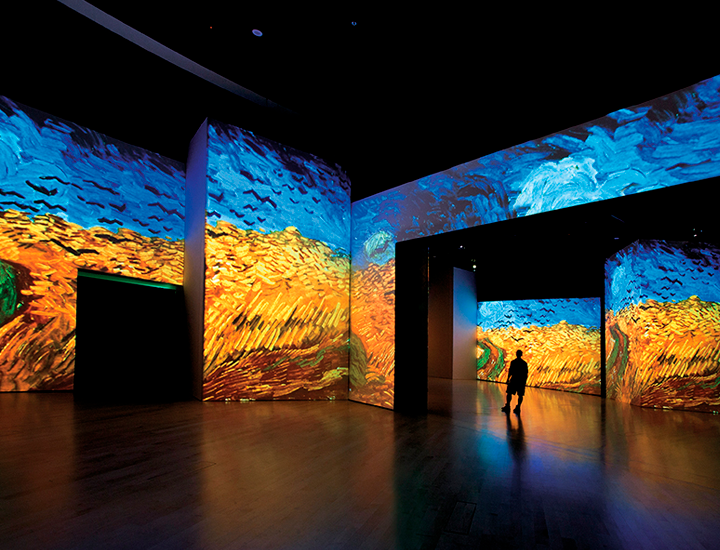 Exposición Van Gogh Alive en Madrid