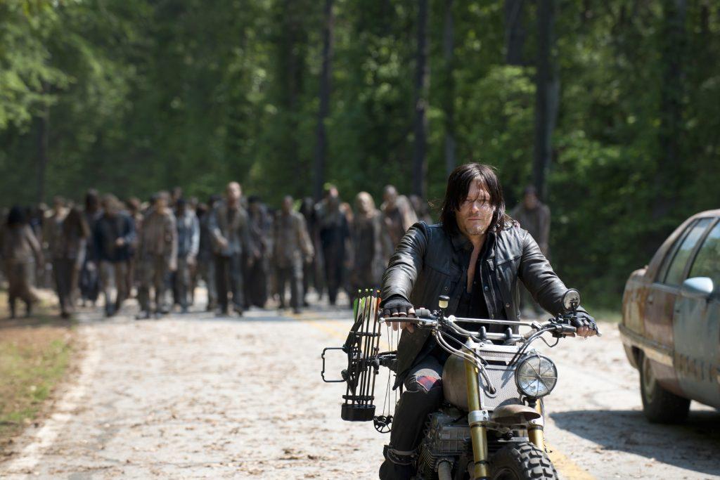 Escena de la serie The Walking Dead