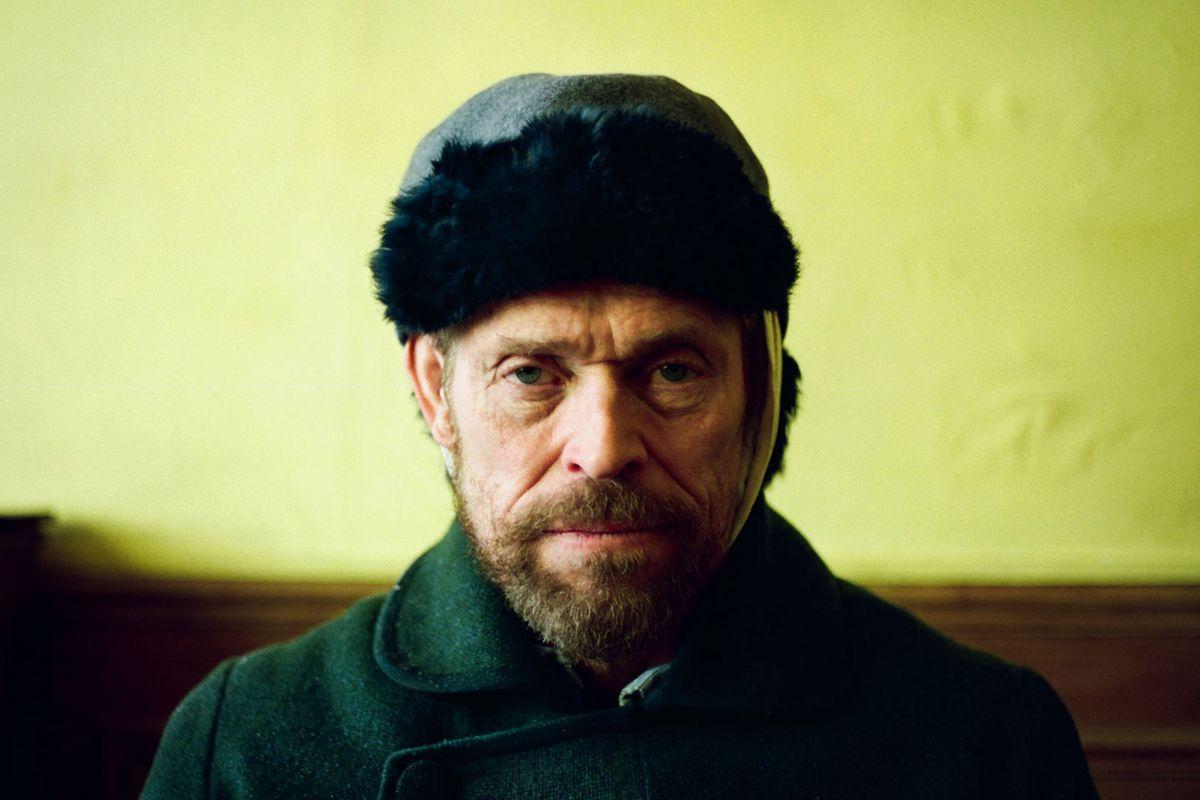 Willem Dafoe como Van Gogh