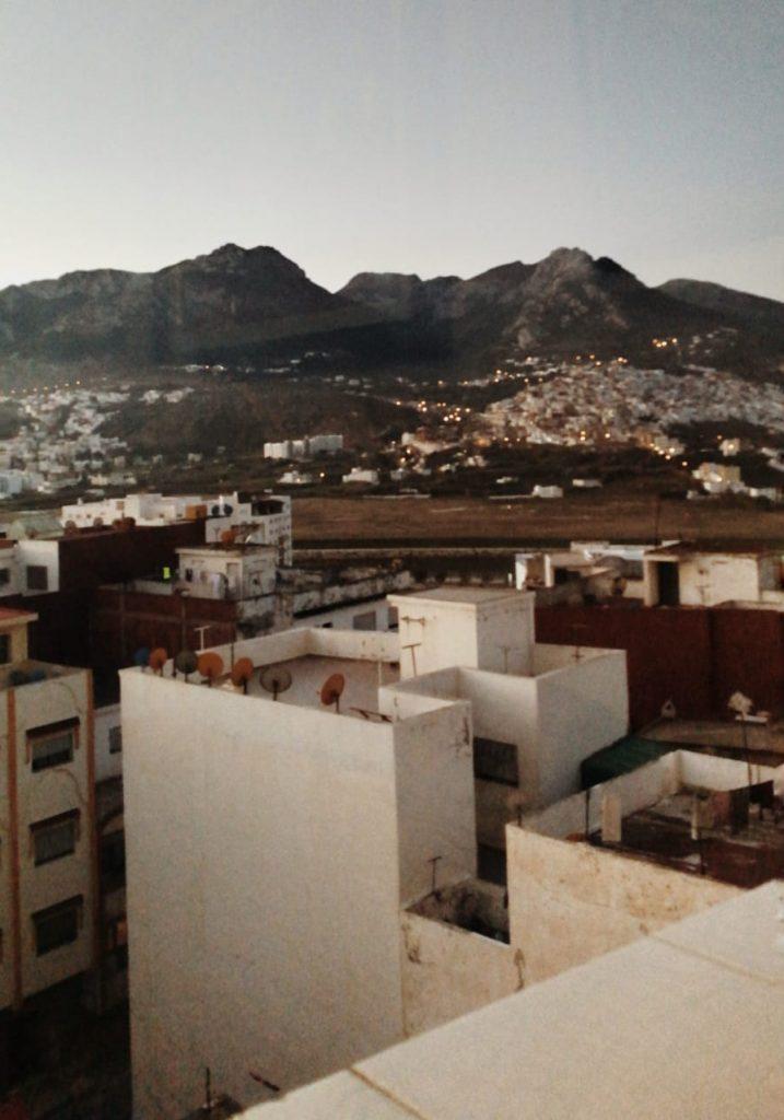 Vista de la ciudad de Tetuán.
