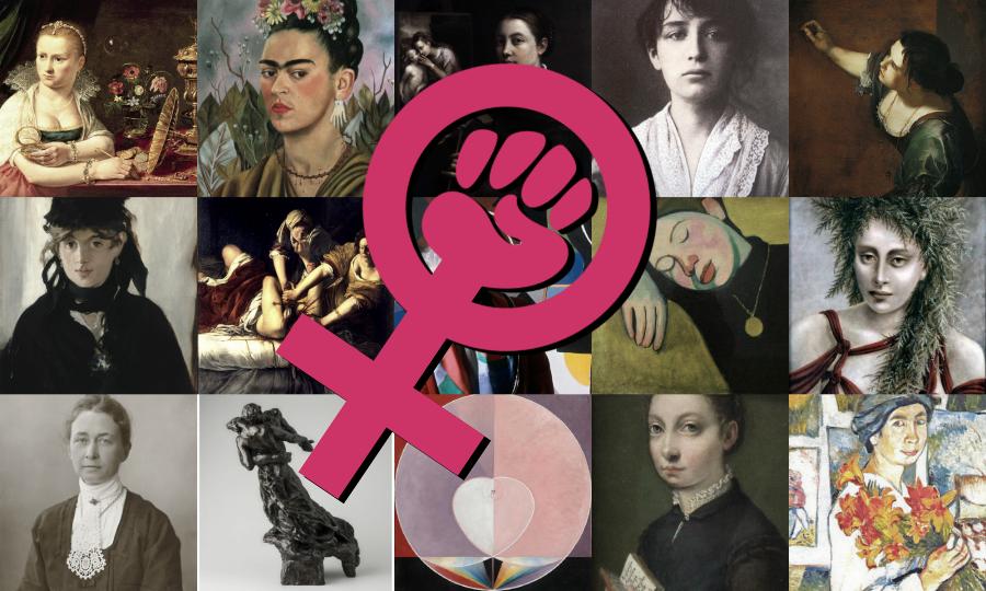 Mujer y Arte
