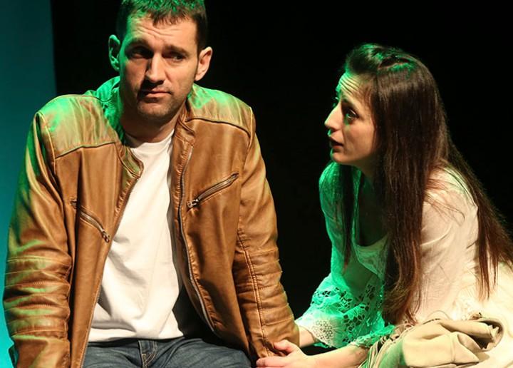 Ruth Núñez y Xabier Olza en Padres.