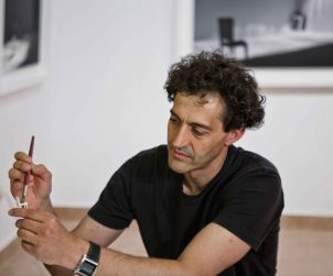 El artista Ignacio Llamas