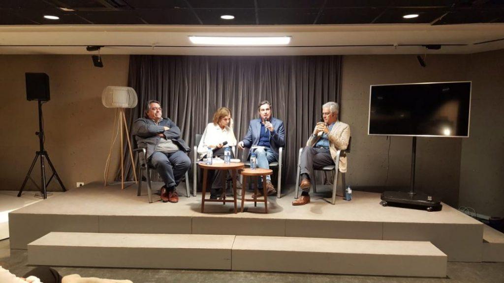 Imagen de la presentación celebrada en Ámbito Cultural en El Corte Inglés de Callao.