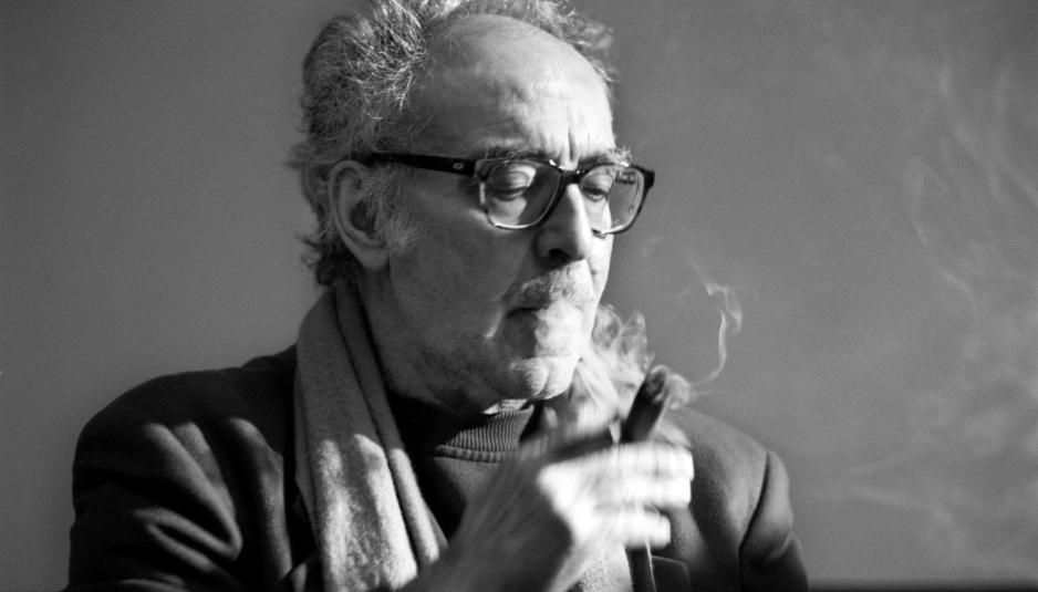 El cineasta francés Jean-Luc Godard.