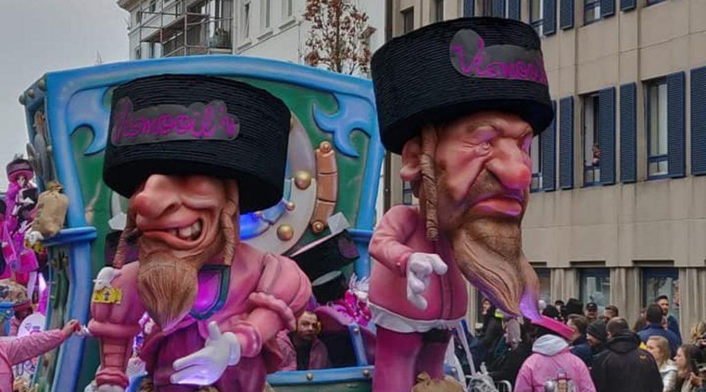 Los imágenes antisemíticas del Carnaval de Alost