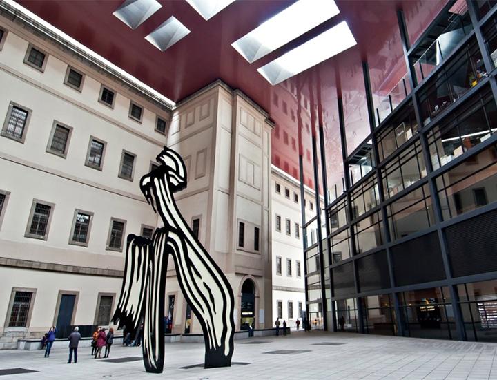 El Museo Reina Sofía es uno de los más importantes de Europa.