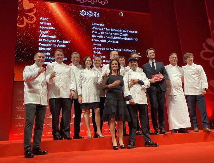 Estrellas Michelin en España