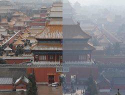 Comparativa de las emisiones de dióxido de nitrógeno en China