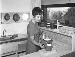 Mujer cocinera