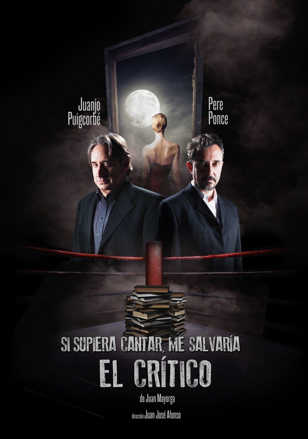 """Cartel de la representación de """"El crítico""""."""
