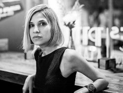 Karina Sainz, autora de la novela
